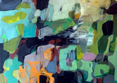 Maleri 120x150 cm Louise Maagaard Design