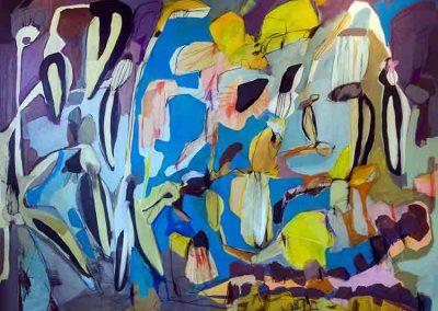 Maleri 160x200 cm Louise Maagaard Design