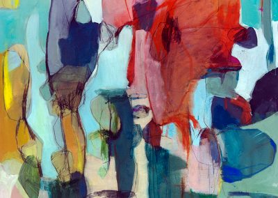 Maleri 80x100 cm Louise Maagaard Design