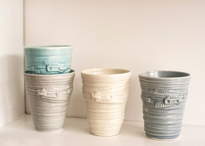 Keramik Zip a cup Grey Maagaard Design
