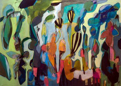 Maleri 100x140 cm Louise Maagaard Design