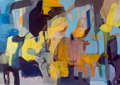 Maleri 80x150 cm Louise Maagaard Design